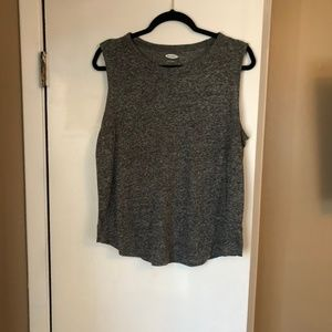Old Navy Gray Muscle Tank L